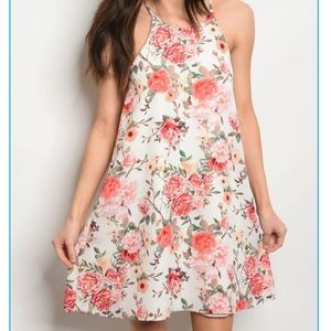 First Look Midi Rose Dress
